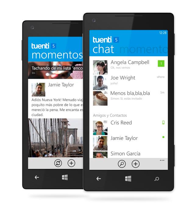 Tuenti Social Messenger para WP