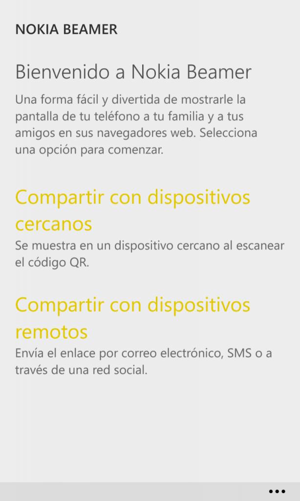 Nokia Beamer 1