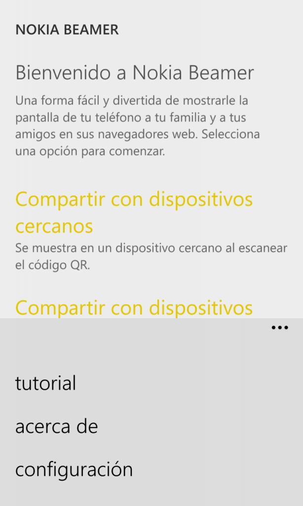 Nokia Beamer 3
