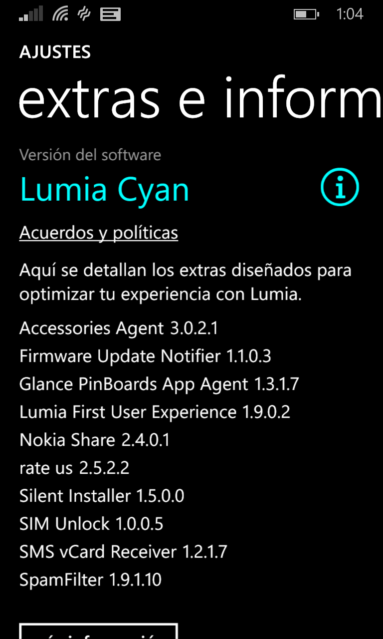 Lumia 1020 con Lumia  Cyan
