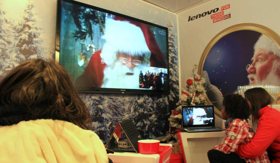 Lenovo Papá Noel