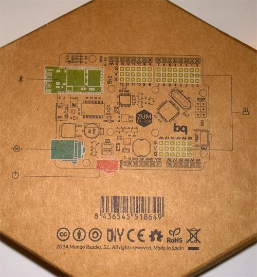 BQ ZUM BT-328 posterior caja