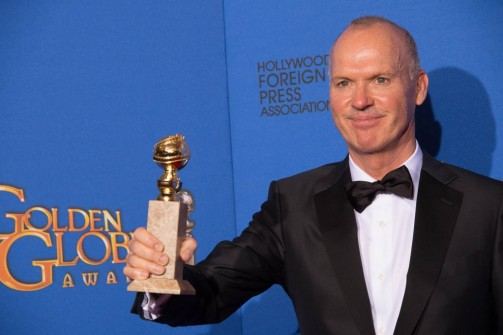 Michael Keaton_Golden Globes 2015