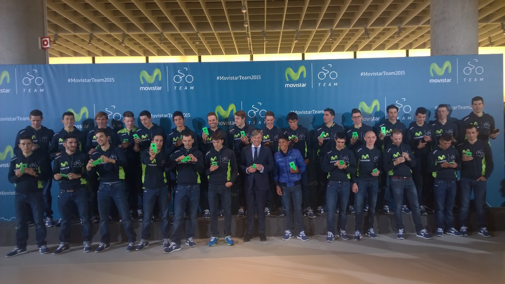 Movistar Team y Lumia 830