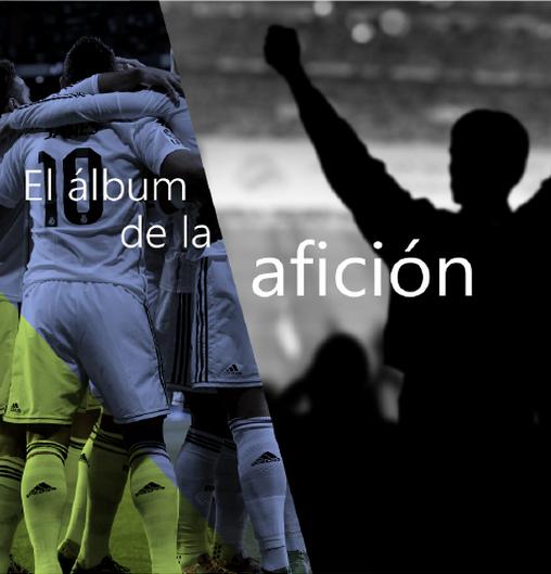 El álbum de la afición del Real Madrid
