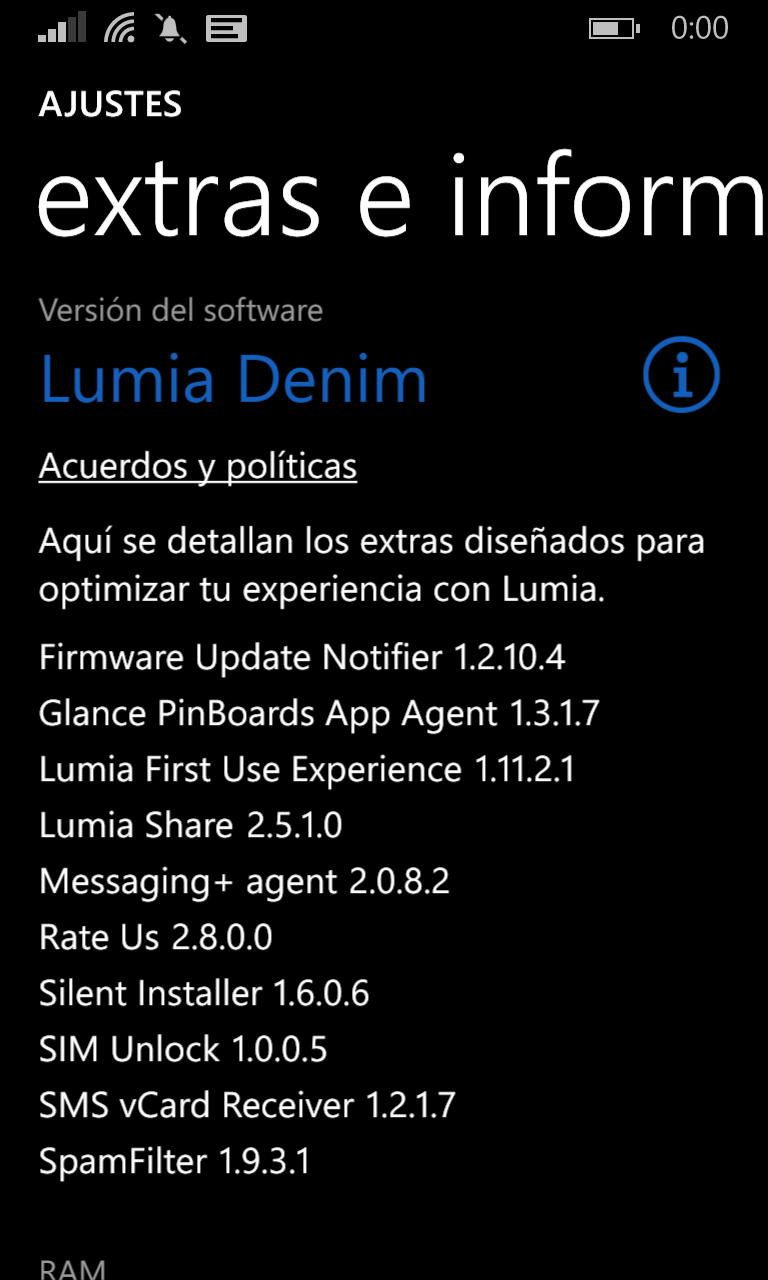 Lumia 1020 con Lumia Denim