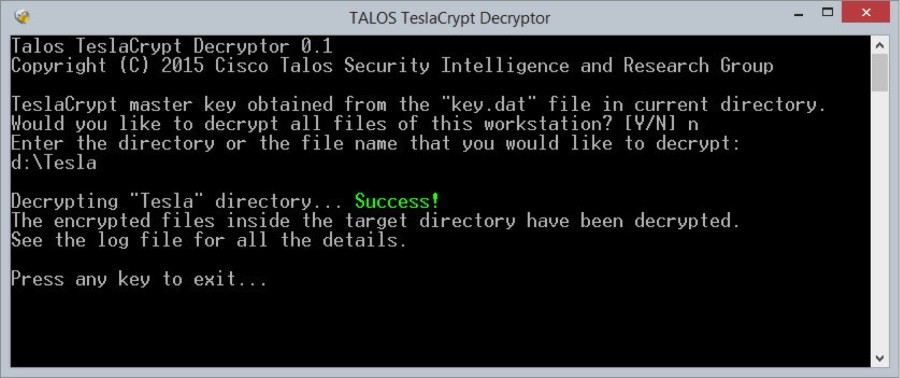 Tool-for-TeslaCrypt
