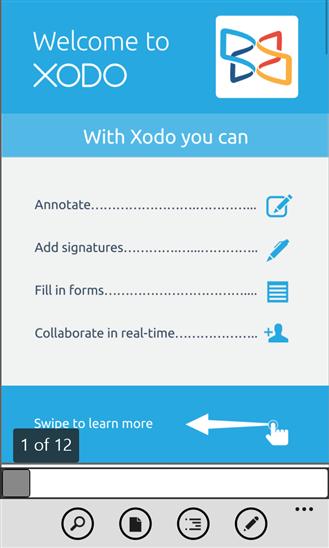 Xodo PDF Reader & EditorVersión