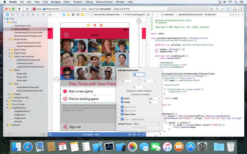 Xcode  Screenshots