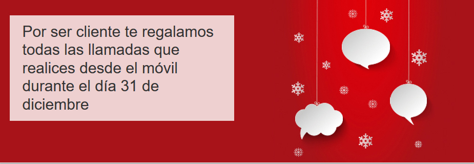 llamadas 31 de Diciembre Vodafone.