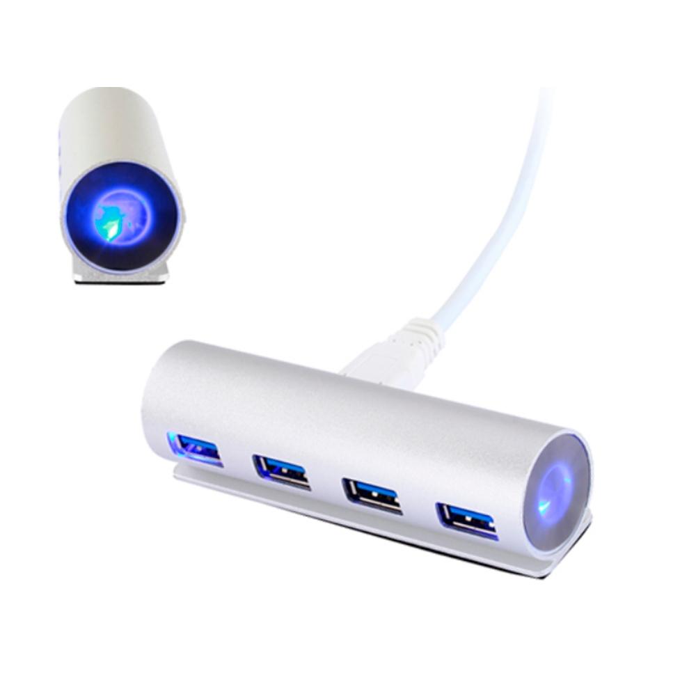 HUB 73 proporcionan 7 puertos USB adicionales. ECuenta con una luz LED indicadora de funcionamiento y con un adaptador de corriente externo, por si fuera necesaria alimentación adicional