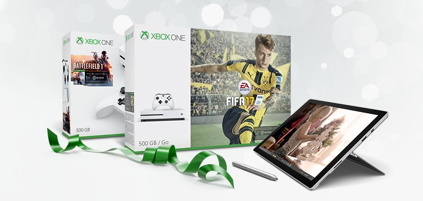 Promoción Surface Pro 4 y Xbox One