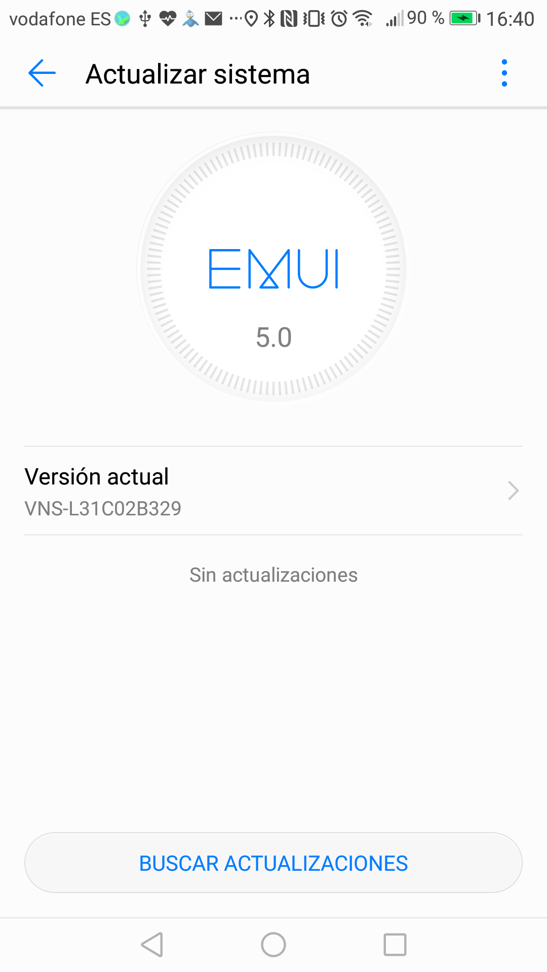 Huawei P9 Lite Android 7.0