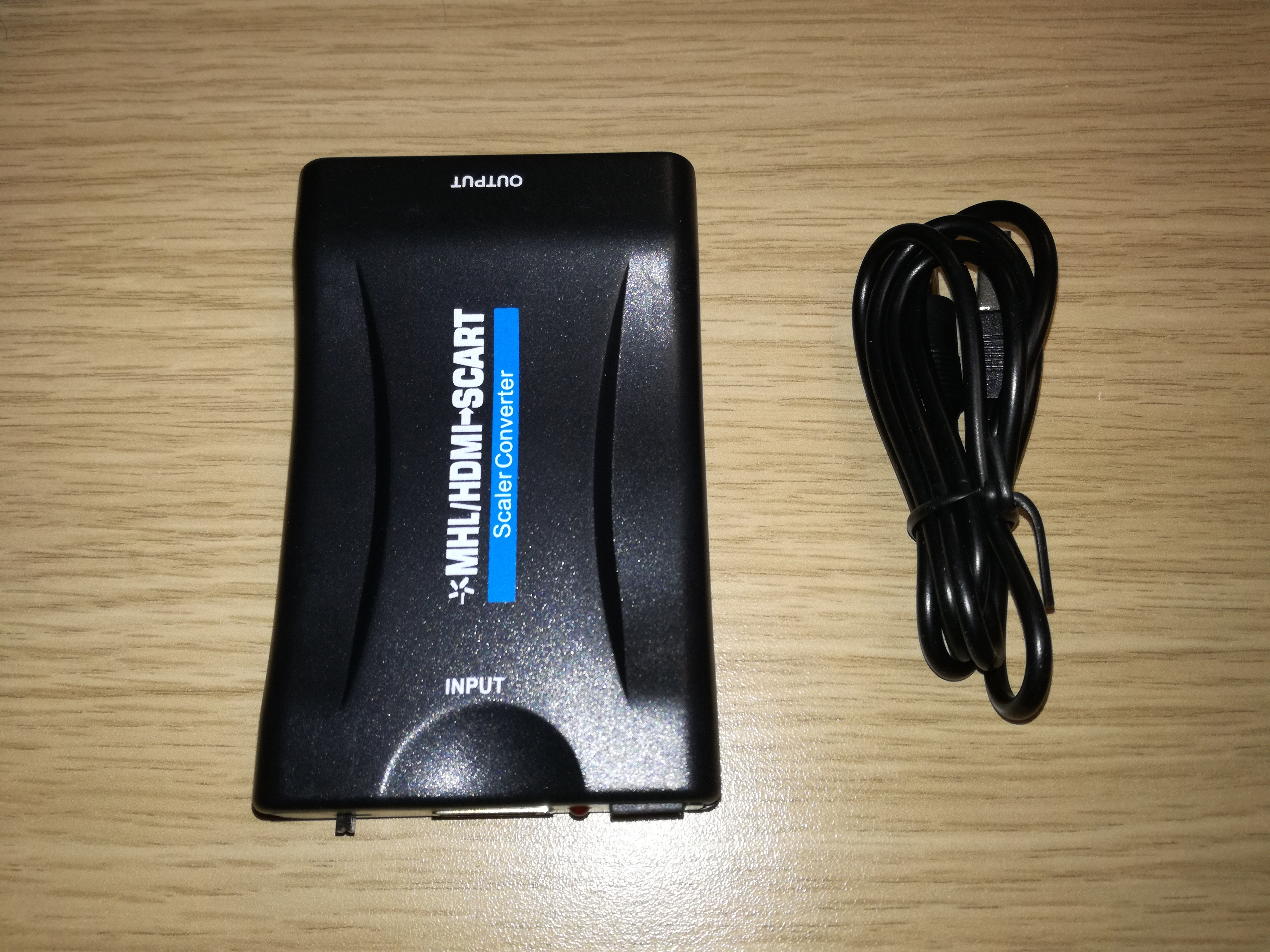 Conversor de HDMI a Euroconector