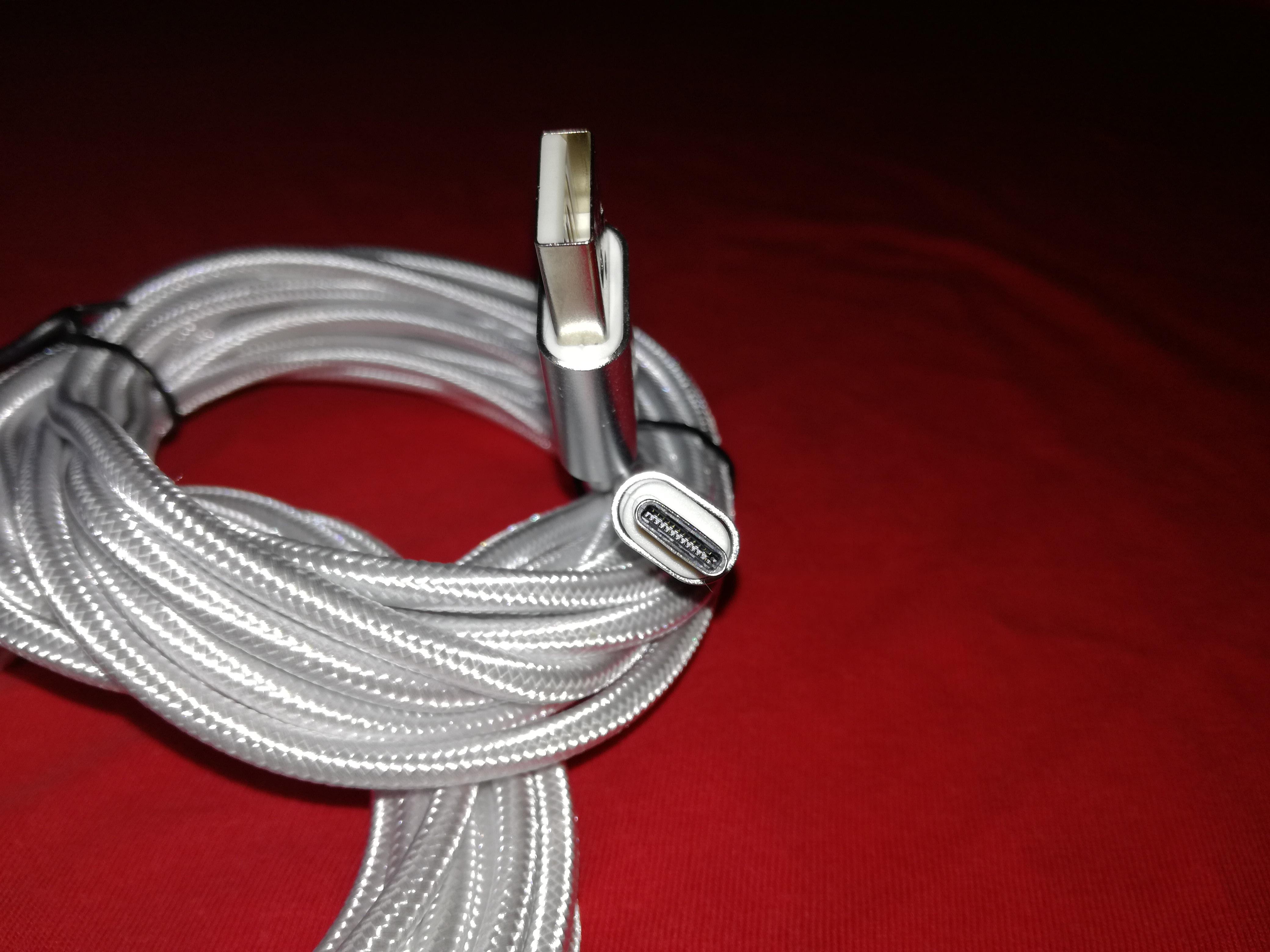 Terminales y cable 3M USB tipo C
