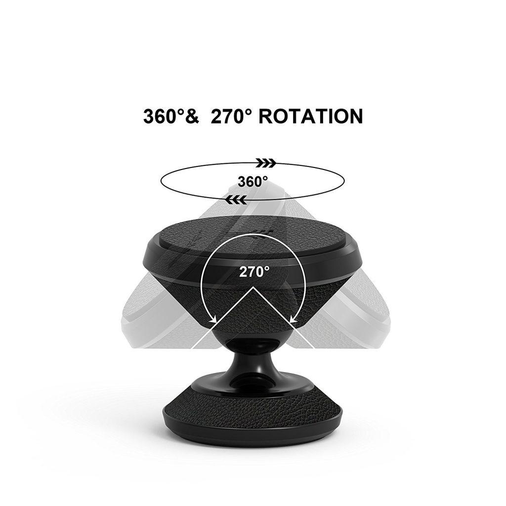 Gran angulo de rotación