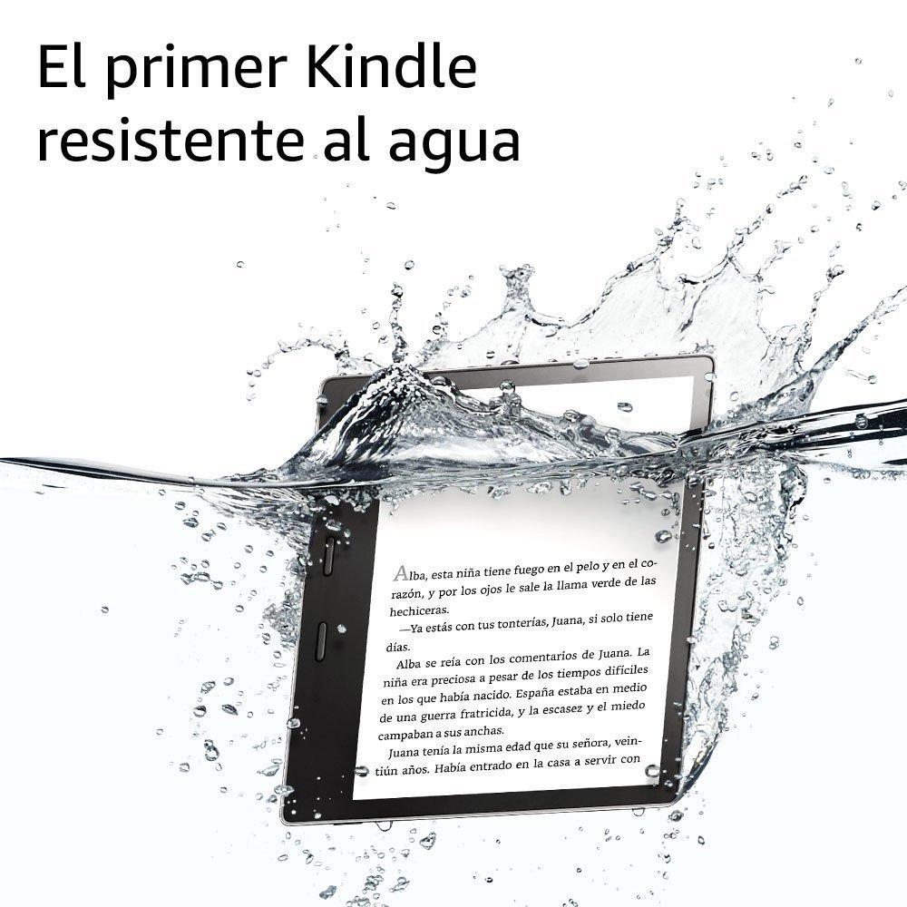 Kindle Oasis , resistente al agua