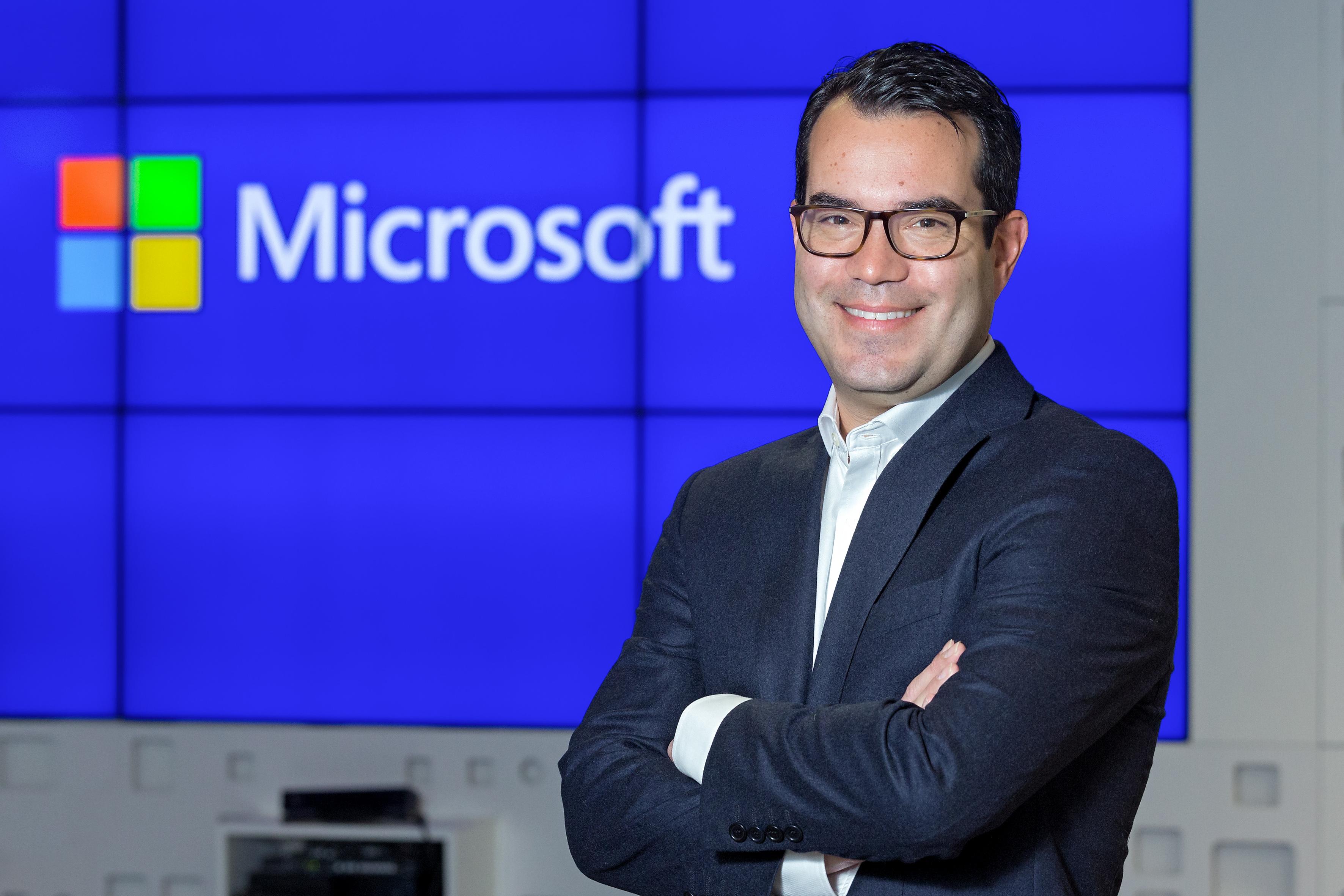 Arnaud Petit_Director Financiero_Microsoft