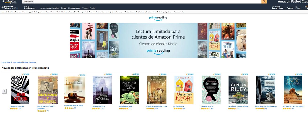 Amazon Reading 2