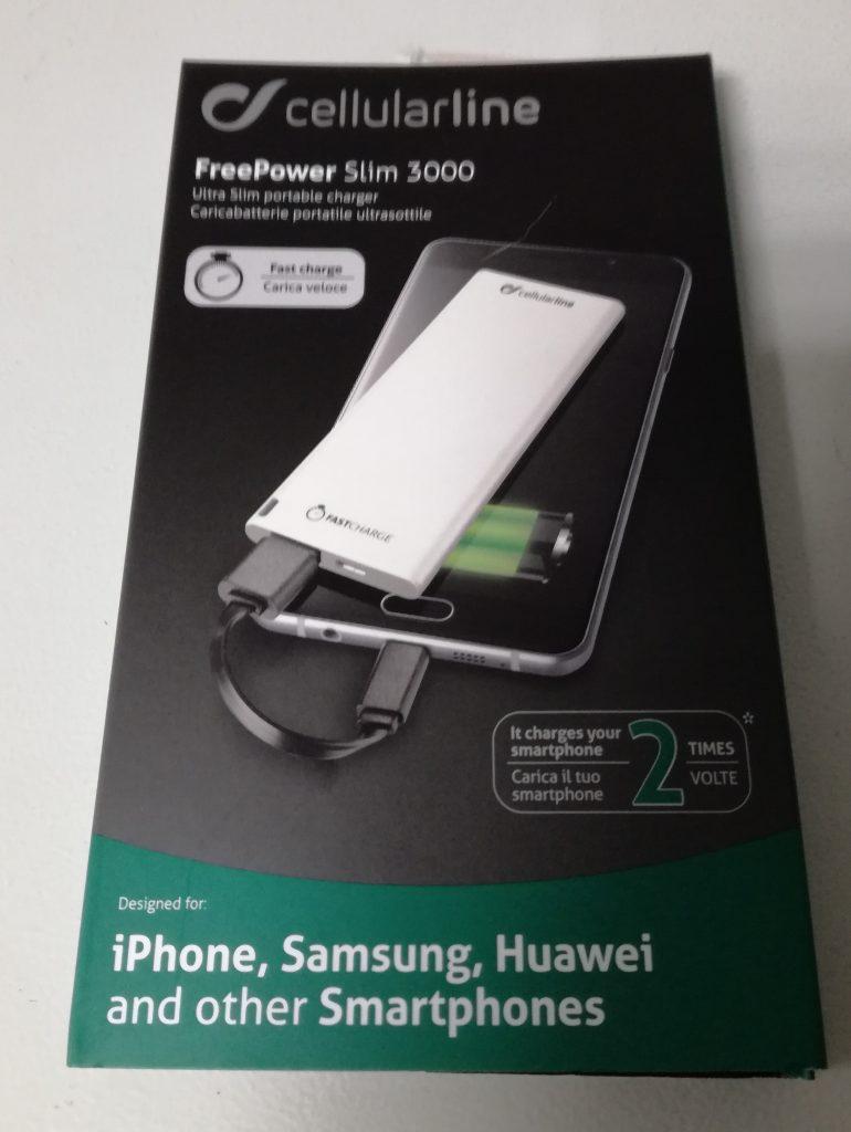 Cellularline FREEPSLIM3000W
