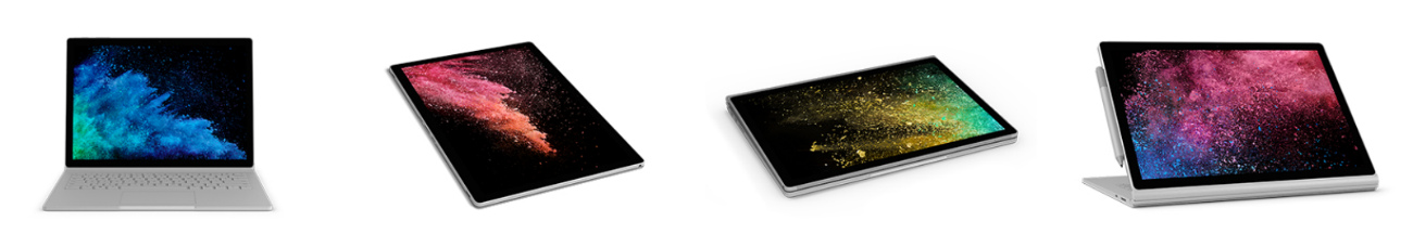 Surface Book 2 versatilidad