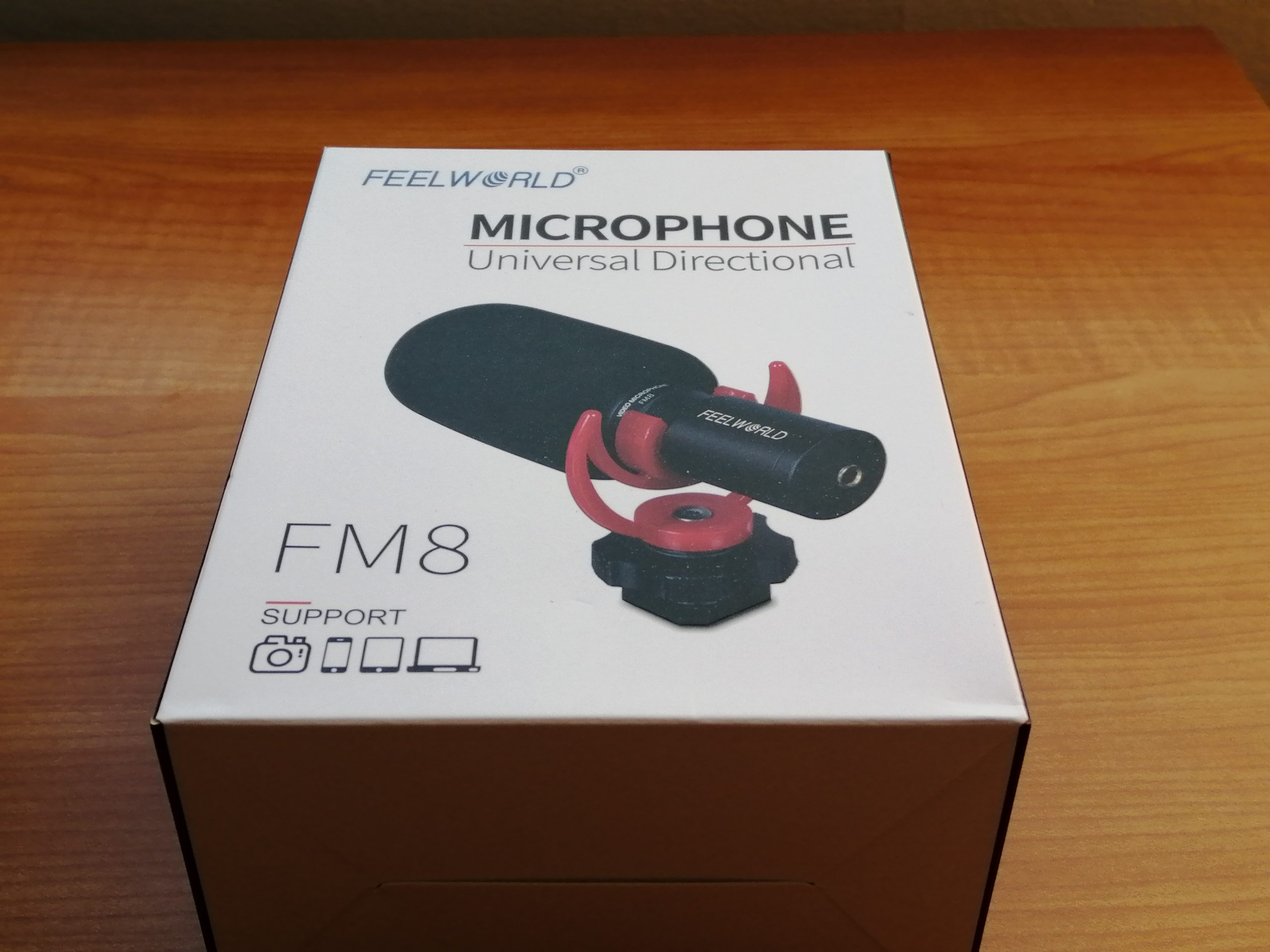 Caja FM8 micrófono Feelworld