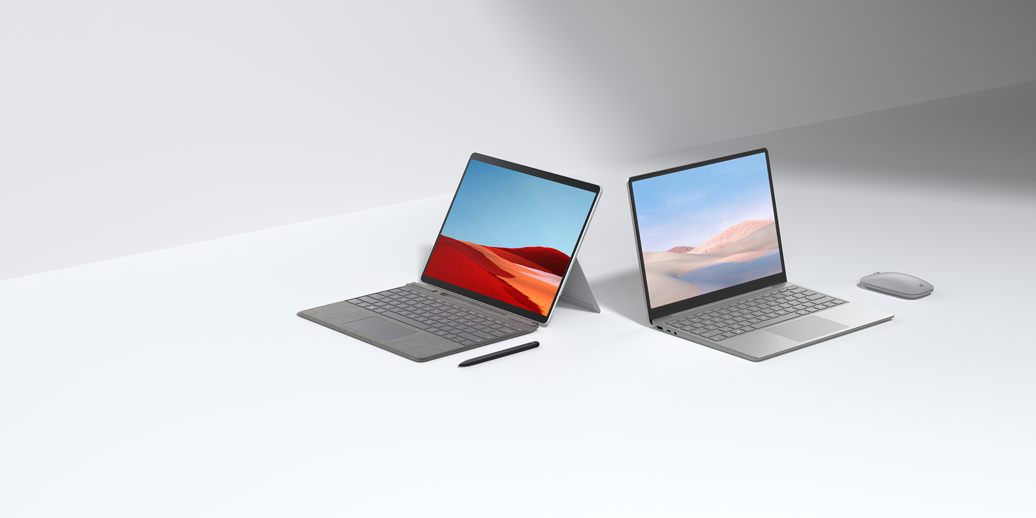 Surface Laptop Go y Surface Pro X print
